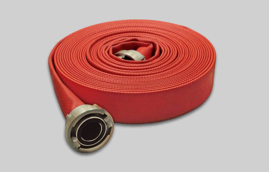 OSW Fire Fighting Hose Syntex 500 PU red